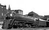 Photo By: Howard Ameling<br /> B&O # 5301 in Grafton, WV Sept 23, 1948<br /> Baldwin 1927<br /> 4-6-2