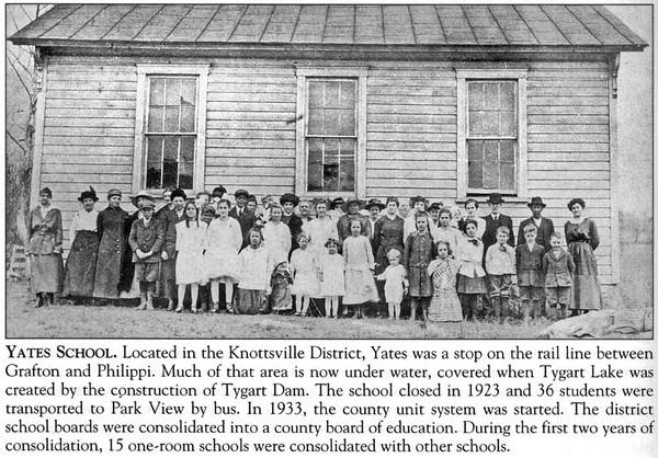 YatesSchoolKnottsvilleDistrict