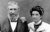 William Andrew Christian Corrothers and his wife Mary Frances. W. A. C. is the son of William and Adaline Corrothers.