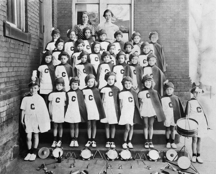 Charles & Betty Montgomery, Central School 1936