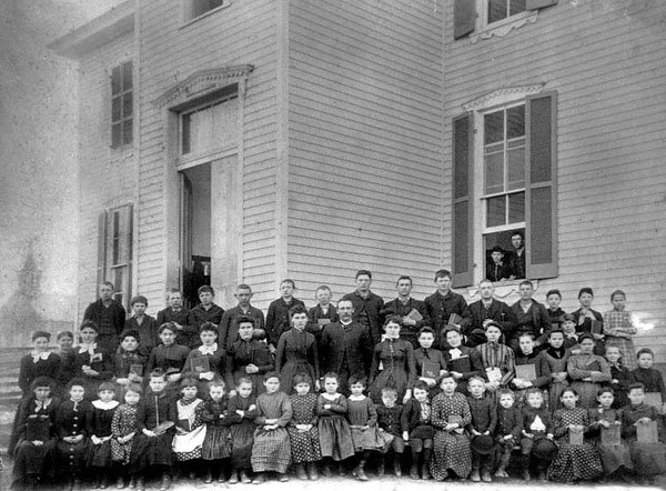 Unknown Class Photo Grafton, W. Va.<br /> Date ca. 1910