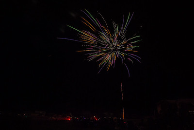 Red, white and blew up the fireworks at PK!