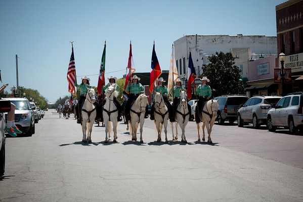 {Knights of Columbus PRCA YOUNG COUNTY RODEO PARADE}