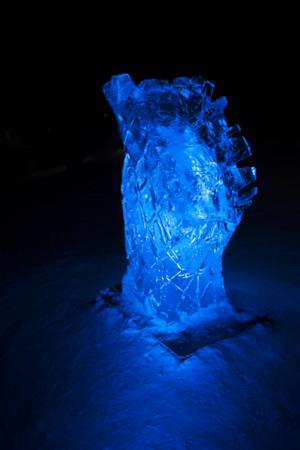 Lone Ice Scupture