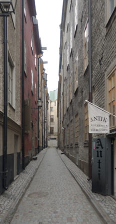 Down the Alley