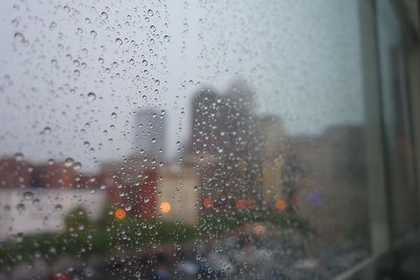 Rainy Day in Indianapolis