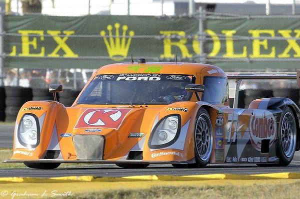 2012 Grand Am action for the Daytona 24 at Daytona International Speedway.  Credit: PaddockTalk/Graham Smith