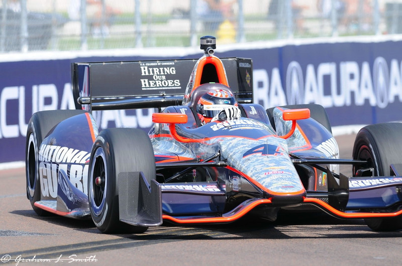 2012 IndyCar Saturday action from St Petersburg, Florida. Credit: PaddockTalk/Graham Smith
