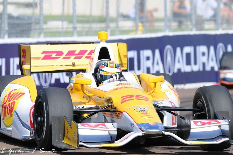2012 IndyCar Saturday action from St Petersburg, Florida. Credit: PaddockTalk/Graham Smith