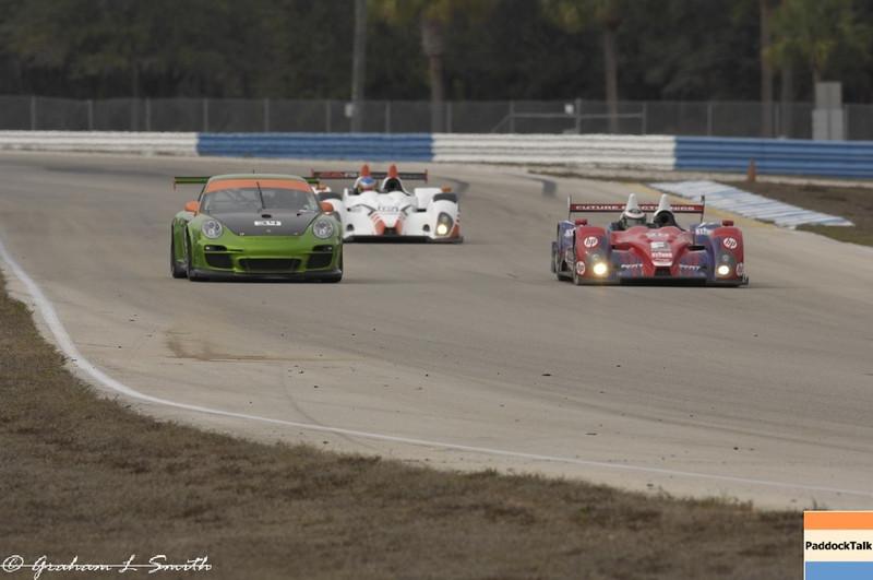 ALMS testing action from Sebring. Credit: PaddockTalk/Graham Smith