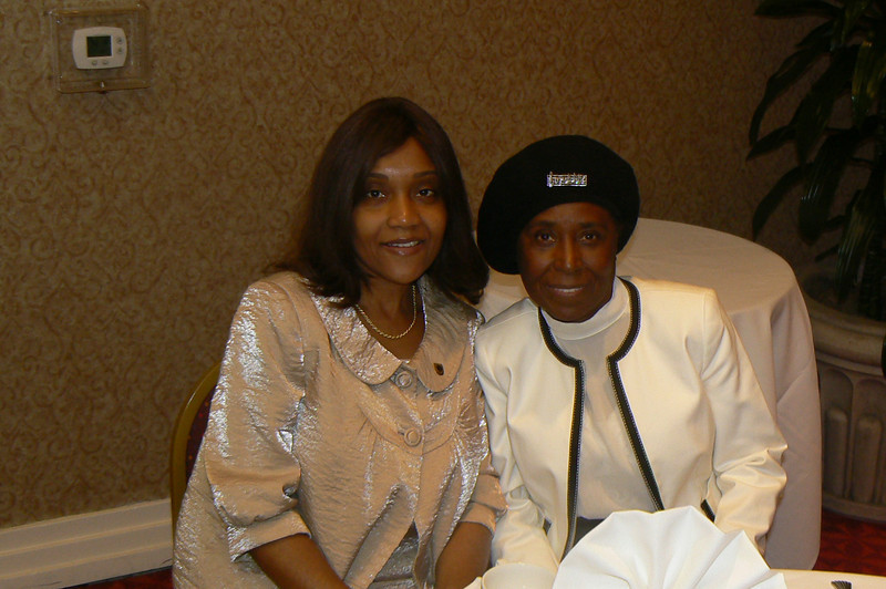 Ronya & Ann Bishop performance artist who portrayed Sojourner Truth