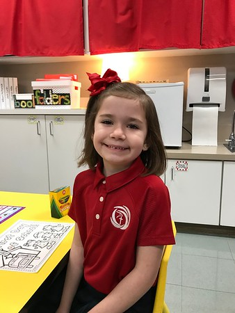 2018-2019 Kindergarten