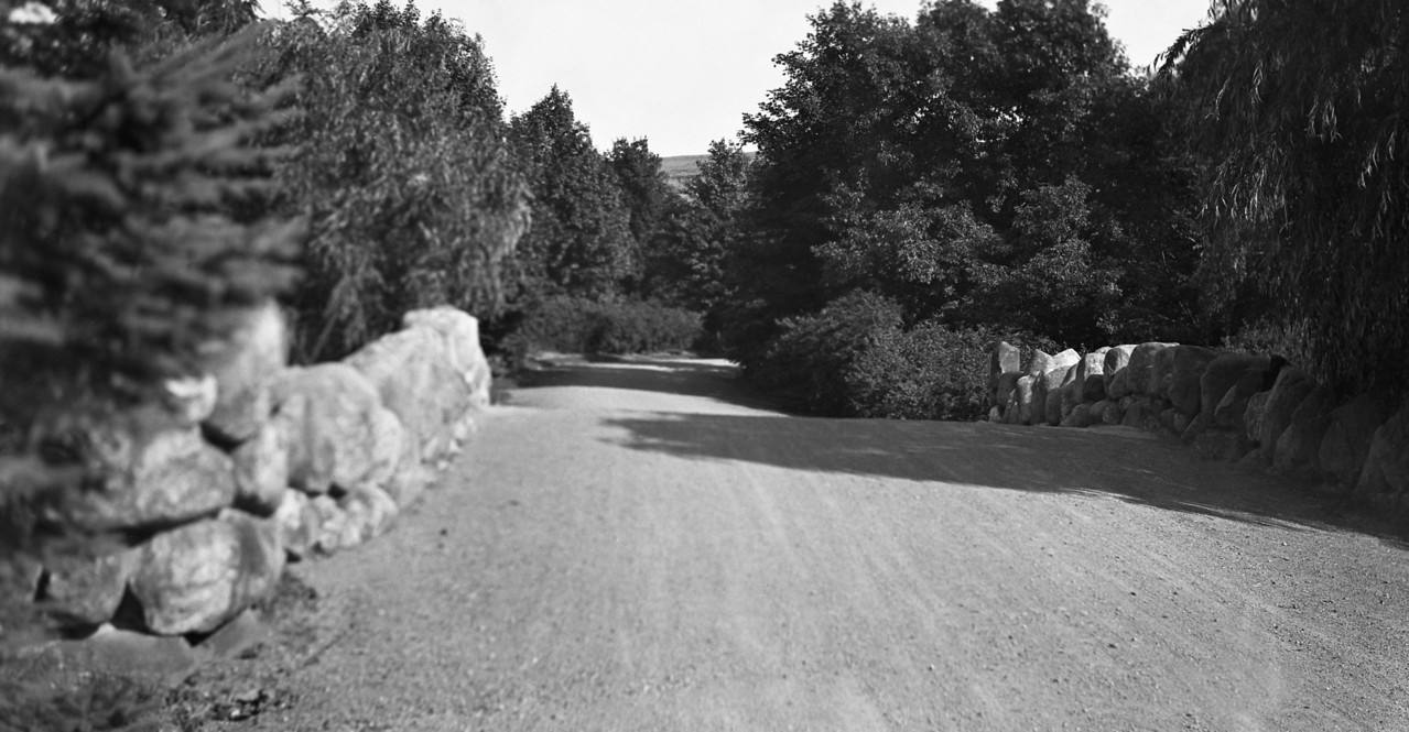 Worcester, Massachusetts, North (Burncoat) Park road over the Stone Bridge   7-19-1916