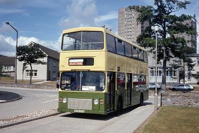 Grampian 104 Woodhill Hoise Aberdeen Aug 84
