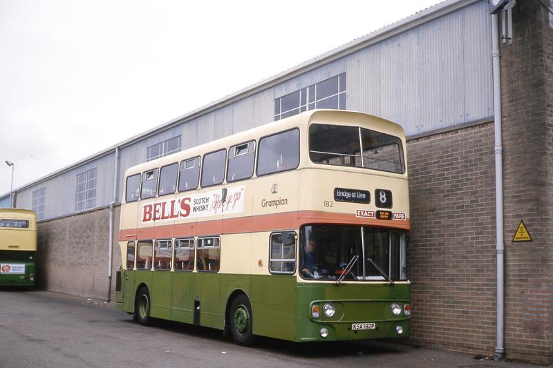 Grampian 182 King Street Depot Aberdeen Jul 84