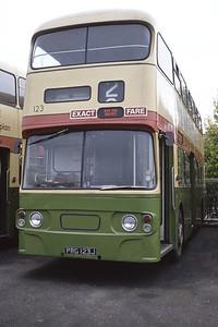Grampian 132 King Street Depot Aberdeen Aug 82