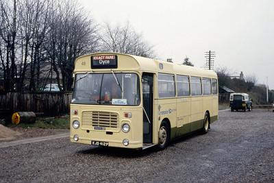 Grampian 48 Dyce Railway Station Mar 85