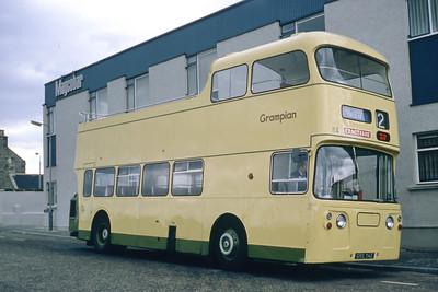 Grampian 114 Esplanade at Footdee Aberdeen Aug 82