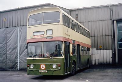 Grampian 154 King Street Depot Aberdeen Aug 85