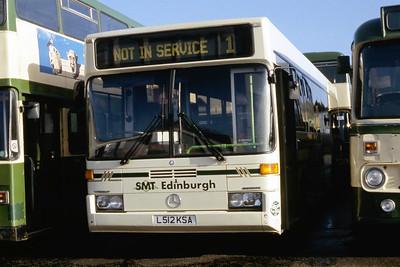 Grampian_Eastern_SMT Hire Hire 512 Bathgate Depot Feb 95