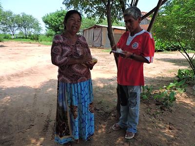 Comunidades flias agricultoras: Samaria P Nivacle