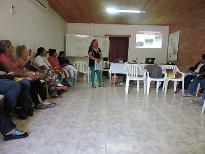 Encuentro mujeres indígenas urbanas