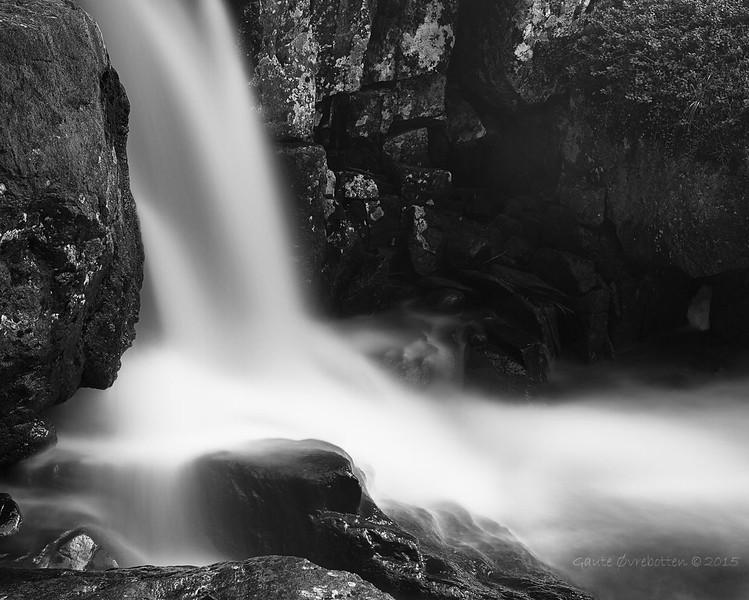 Studie (lang eksponering)<br /> River study - long exposure.