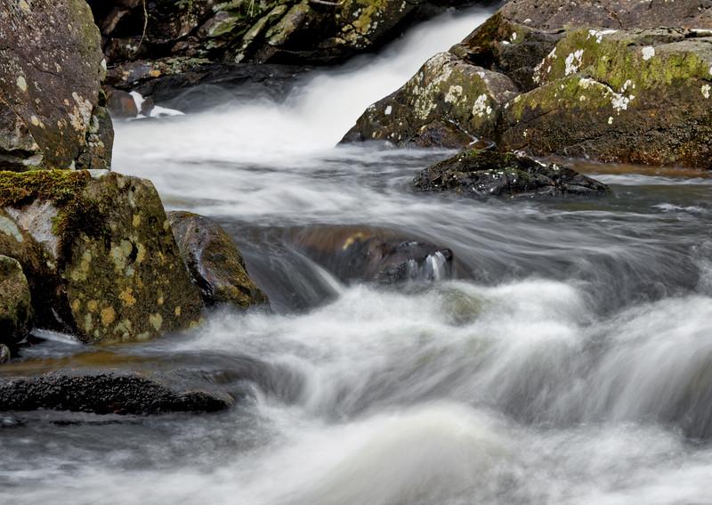 Skjerva - nok ein gong.<br /> Flowing water