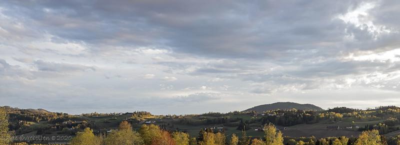 Kveldssol over Granavollen