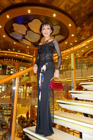Grand Asia Cruise Oct 24, 2014 - Nov 10, 2014,  Sapphire Princess - At Sea, Second Formal Night, At Sea