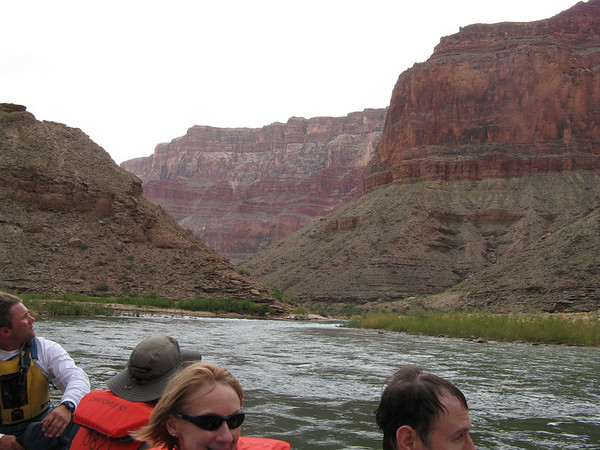 Grand Canyon Day 2 (Cont'd): Rafting to Rattlesnake campsite (mile 73.5)
