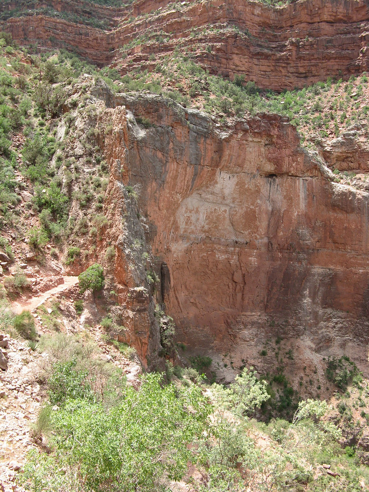 Another view of the Redwall gap.