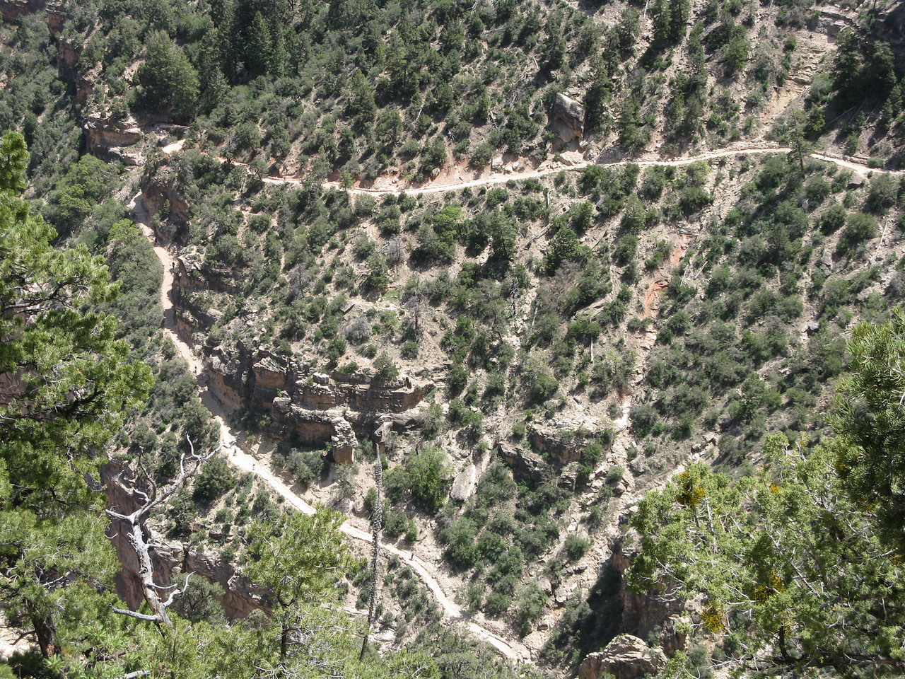 Another steep switchback just below the prior picture.