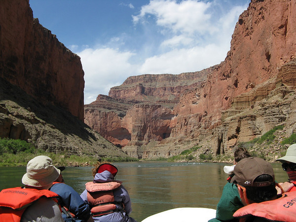 Grand Canyon Day 2 (Cont'd): Rafting to the Little Colorado River (mile 61)
