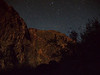 Moonlit Canyon Wall