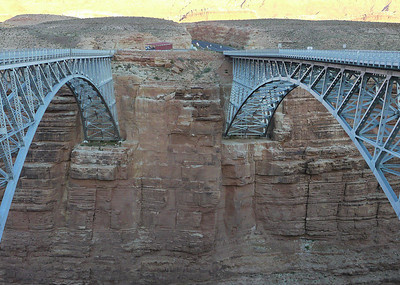 The night before departure - Navajo Bridge