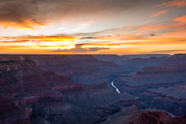 Grand Canyon National Park at Sunset