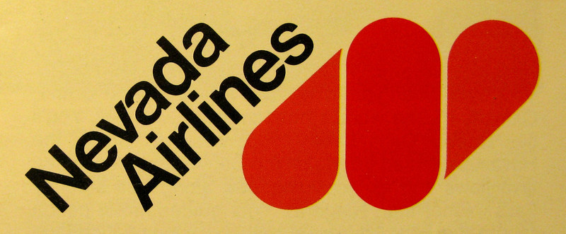 NEVADA AIRLINES, INC.<br /> <br /> Not to be confused with the Nevada Airlines of the late 1920s or Hawthorne Nevada Airlines (Mineral County Airlines) of the late 1960s, this airline began operations in the mid-late 1970s. The airline ceased operations during 1981.