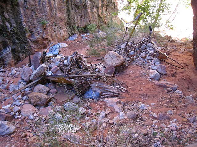 """An overall view of the wreckage debris from Piper Cub """"N6566H"""". This accident was a preventable case of a poorly planned and reckless flight.<br /> <br /> THE END"""