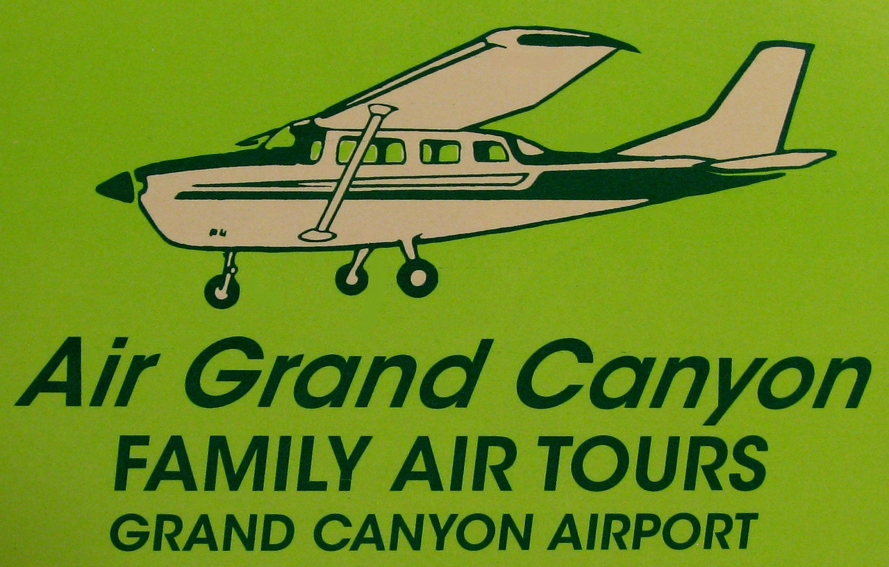 AIR GRAND CANYON - SUMMER 1991<br /> <br /> Air Grand Canyon was founded in 1981 by Daniel C. Lawler. He began operations at the Grand Canyon National Park Airport with one Cessna T207A (Adventure One). By 1991, the company was celebrating it's 10th anniversary.<br /> <br /> Today, the air tour company exists in name only with the operation of a single aircraft. A Cessna 182.