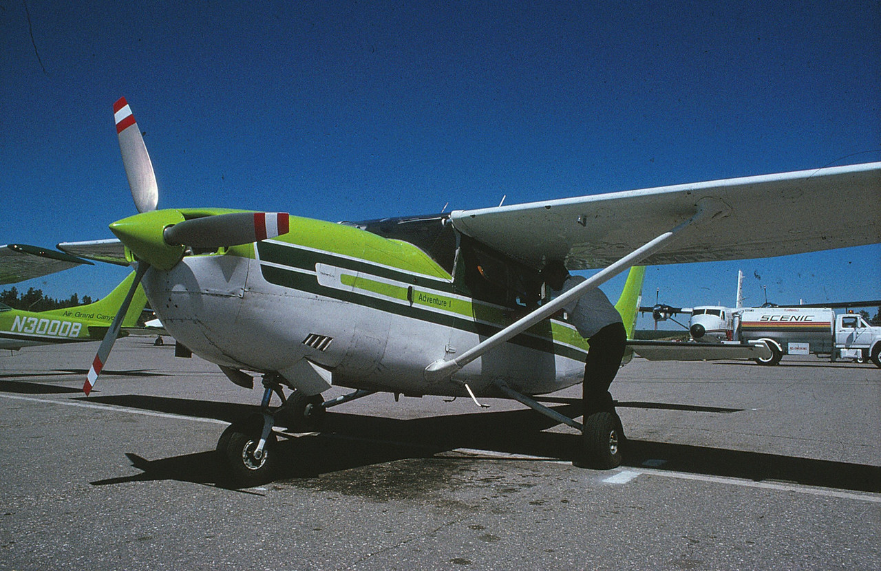 """AIRCRAFT INVOLVED<br /> <br /> """"Adventure One"""" (N6280H) was a 1978 Cessna Turbocharged 207A operated by Air Grand Canyon. <br /> <br /> The aircraft was the first plane to be operated by the company when it began operations in 1981. The aircraft was configured with six passenger seats and one pilot seat."""
