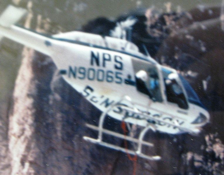 At 9:52 AM, National Park Service helicopter pilot Tom Caldwell with NPS Rangers; Ernie Kuncl and Charlie Peterson (EMT) were the first to respond to the accident scene.<br /> <br /> Upon arrival, both tour aircraft were completely engulfed in flames. Ranger Peterson remained at the site as the interim Accident Scene Coordinator. No attempts were made to extinguish the fires which burned for several hours.