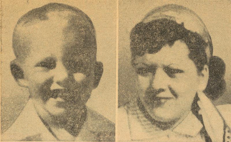 Jeffrey Crider, 4 and his mother, Mrs. Elizabeth Crider, 28 were traveling back east on UAL Flight 718.
