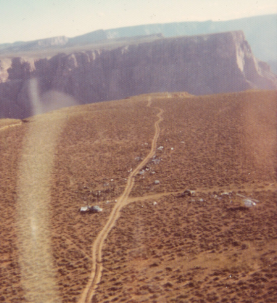Wreckage was placed on the Navaho Indian Reservation. Parts were then cut into smaller pieces and loaded onto trucks for a salvage yard in Tucson. <br /> <br /> Bell 206 Helicopters were used to sling wreckage from the impact sites and surrounding areas. Some parts were observed to fall back into the canyon as they were being lifted out of the canyon.