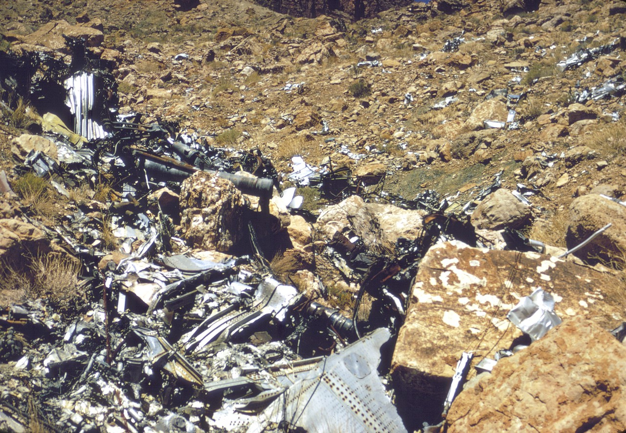 The escalating prices of reusable metals coupled by the push to cleanup america's public lands during the early to mid 1970's made the 1956 TWA/UAL crash site a prime target for removal.