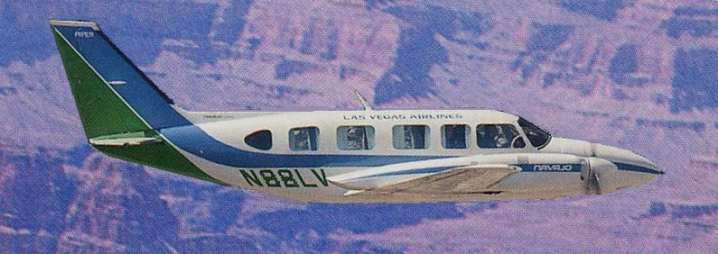AIRCRAFT INVOLVED:<br /> <br /> The Piper PA-31 Navajo is a family of cabin-class, twin-engine aircraft designed and built by Piper Aircraft for the general aviation market. <br /> <br /> In September 1972, Piper unveiled the PA-31-350 Navajo Chieftain, a stretched version of the Navajo with more powerful engines and counter-rotating propellers to prevent critical engine handling problems. The fuselage was also lengthened by 2 feet, allowing for up to ten seats. Production of the PA-31 series ceased in 1984.
