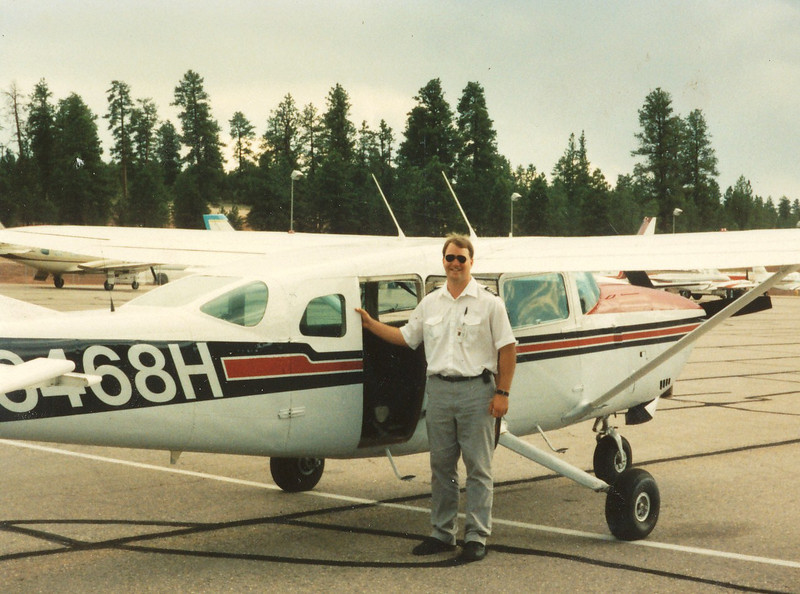 The aircraft was one of several Cessna 207's operated by Lake Powell Air Service that I flew before the company's merger with Scenic Airlines in 1993.