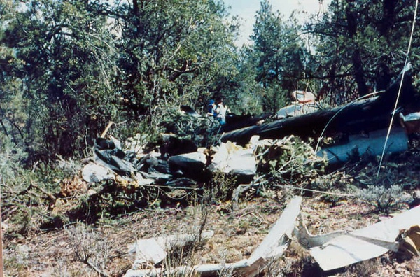 The aircraft severed electrical power lines that provided power to the airport. Many of these wires can be seen entangled in the wreckage.<br /> <br /> With so many possible ignition sources present, aviation safety experts are still baffled that there was not a fuel-fed post crash fire from this accident.