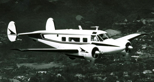"""THE AIRCRAFT  The aircraft was a conventional gear Beech G18S """"Super 18"""" (N318M) that was manufactured by Beech Aircraft Corporation of Wichita, Kansas in August 1960. It bore serial number BA545. The aircraft was powered by two Pratt and Whitney R985 Radial Engines. Each producing 450 hp.  Dr. Shepro purchased the aircraft to be used for his business."""