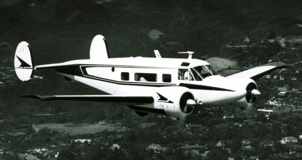 """THE AIRCRAFT<br /> <br /> The aircraft was a conventional gear Beech G18S """"Super 18"""" (N318M) that was manufactured by Beech Aircraft Corporation of Wichita, Kansas in August 1960. It bore serial number BA545. The aircraft was powered by two Pratt and Whitney R985 Radial Engines. Each producing 450 hp.<br /> <br /> Dr. Shepro purchased the aircraft to be used for his business."""